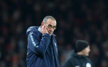 Сари разкости Челси: Бесен съм, така ли се играе дерби?!