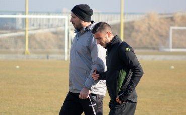 Антон Карачанаков започна тренировки с Ботев Пд