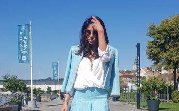 Екссъпруга на сръбски вратар впечатли с фигура на Малдивите