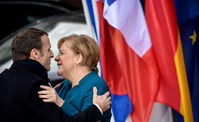 Германия и Франция с исторически договор