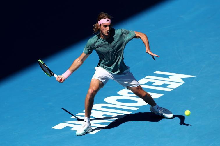спорт тенис победа циципас
