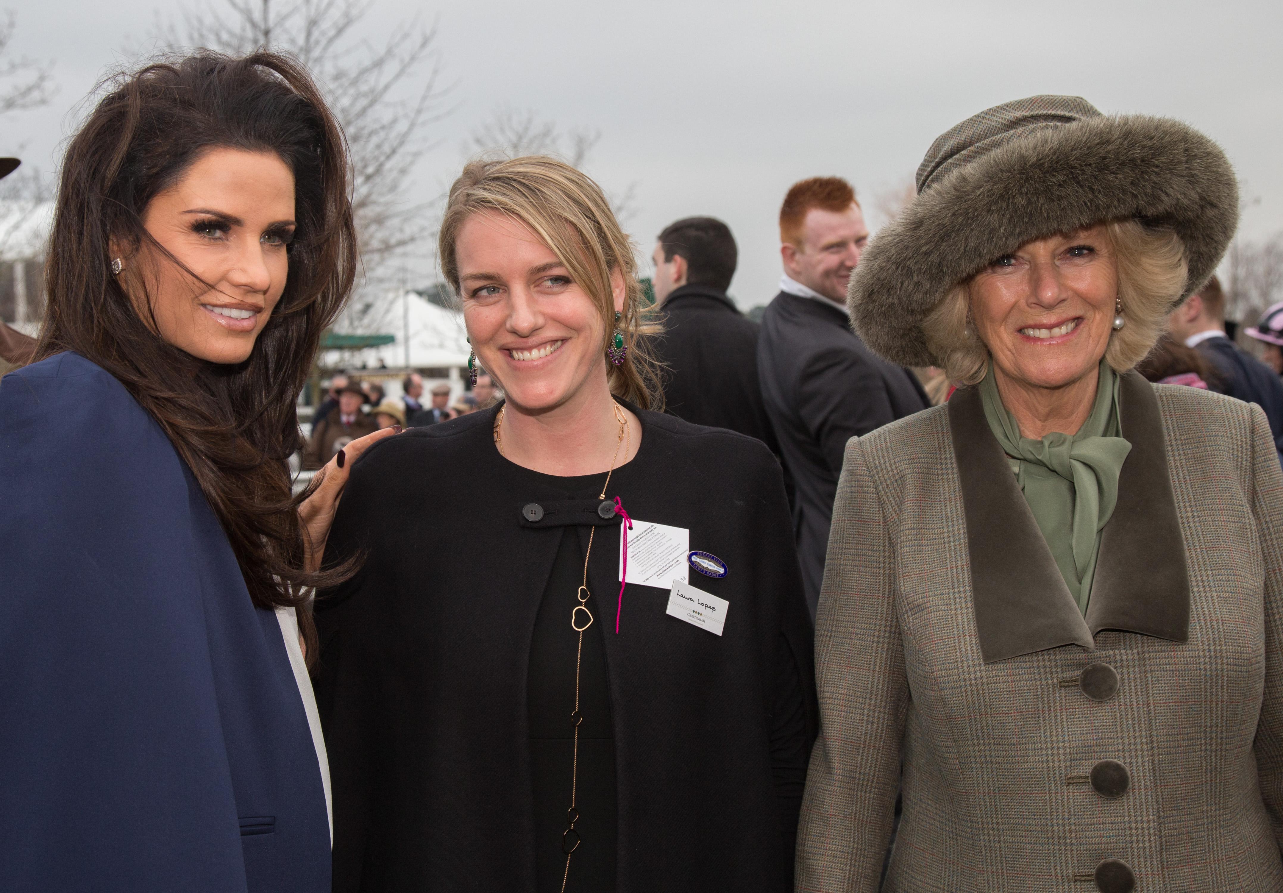 Лора Лоупес е дъщеря на херцогиня Камила.