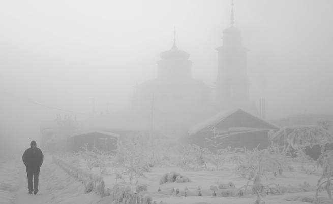Деца избягаха от детска градина в Сибир при -45 градуса