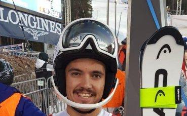 Алберт Попов спечели втория слалом в Италия