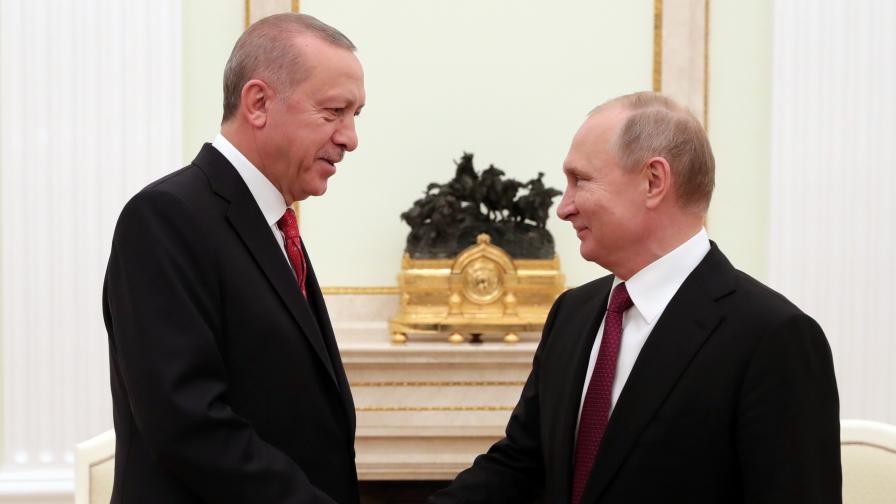 Путин към Ердоган: Подобряването на отношенията е ваша заслуга