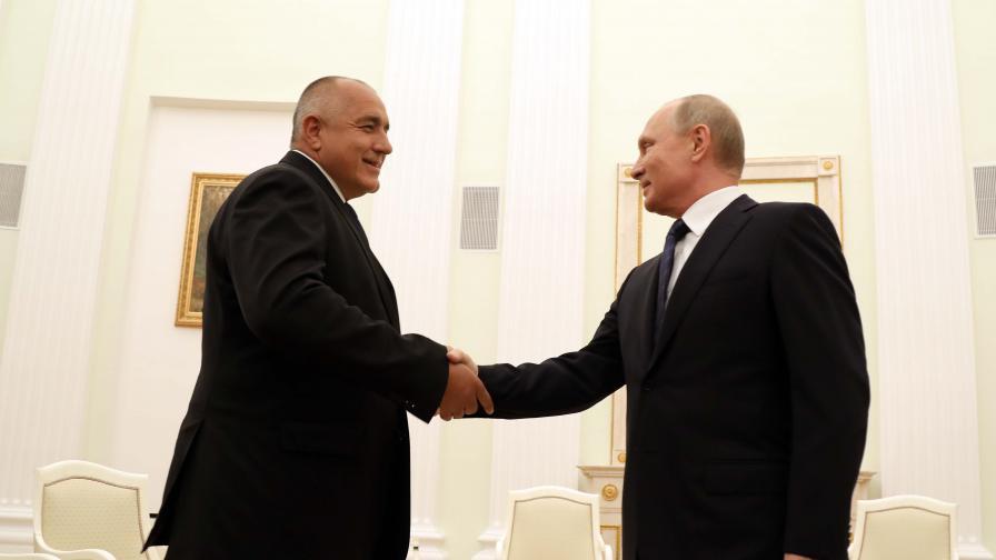 Борисов и Путин с телефонен разговор, какво обсъдиха