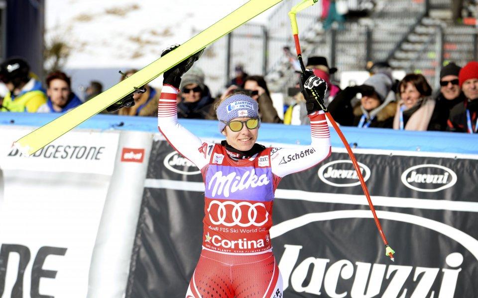 Никол Шмидхофер спечели за пети път от шестте си старта