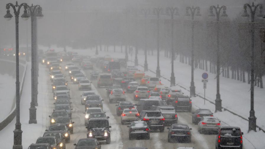 Невиждан от 70 г. снеговалеж в Москва