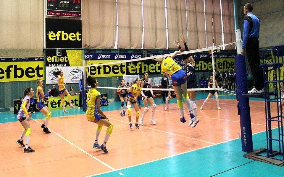 Марица започна с успех втория полусезон при волейболистките