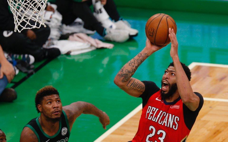 Ню Орлиънс допусна домакинско поражение срещу Денвър в НБА