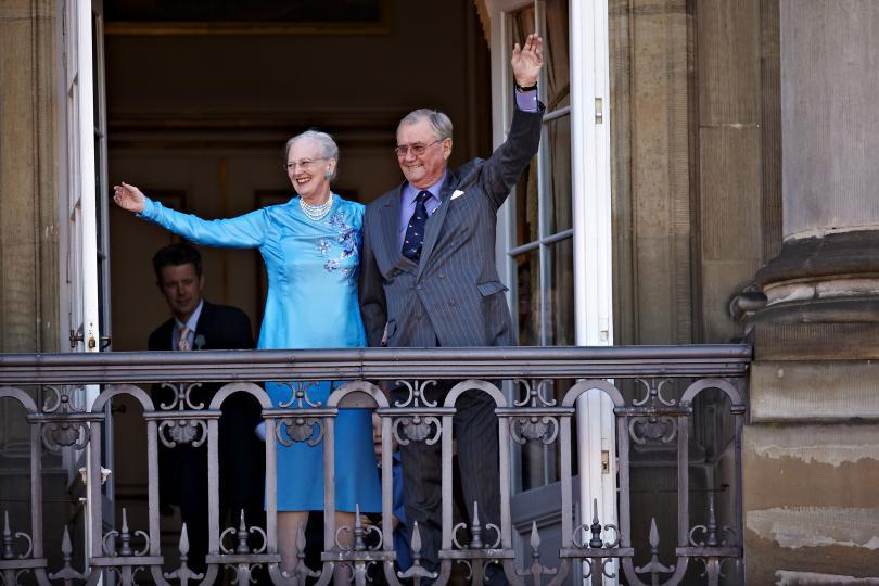 <p>Датското кралско семейство</p>