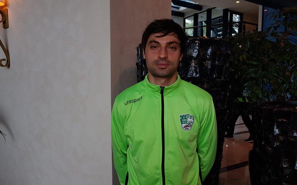 Райнов за Гонг: Готов съм да играя за Левски