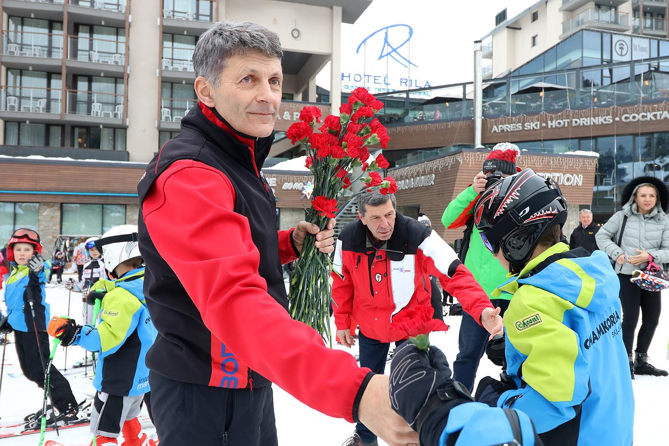 Легендата на българските ски Петър Попангелов празнува 60-годишен юбилей