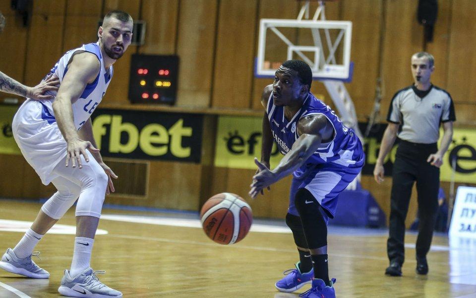 Баскетболист на Левски в идеалната петица на кръга във ФИБА Къп
