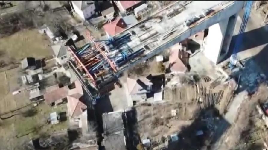 <p>Цимент и материали падат върху къщи в Габрово, протест</p>