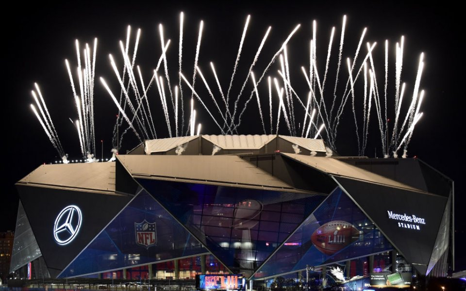 Супербоул LV ще се играе пред 22 000 зрители