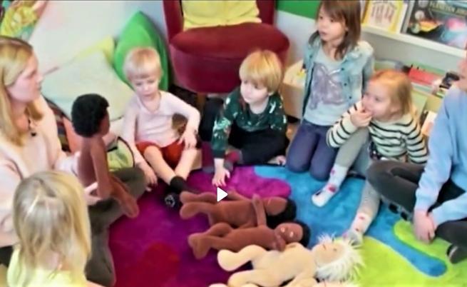 В тази детска градина децата сами определят пола си