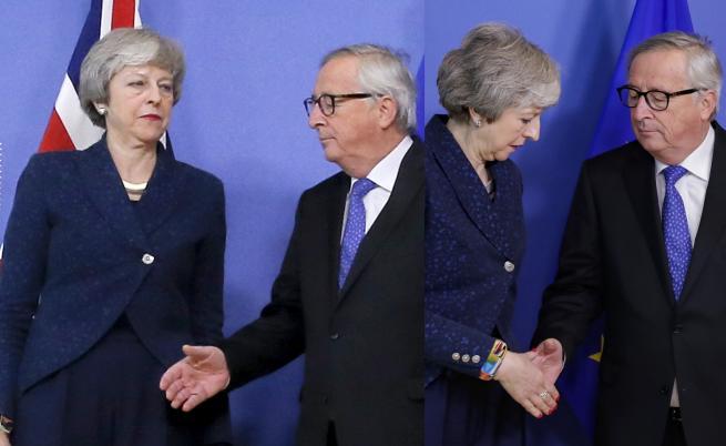 """""""Брекзит"""" - Юнкер даде спасителна сламка на Мей"""