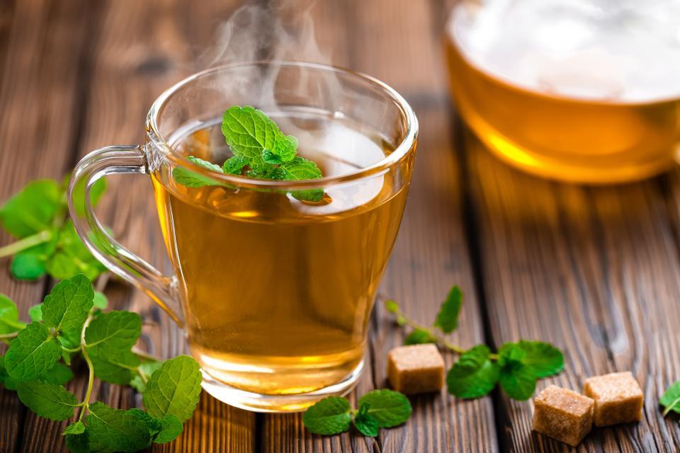 вода чай сок