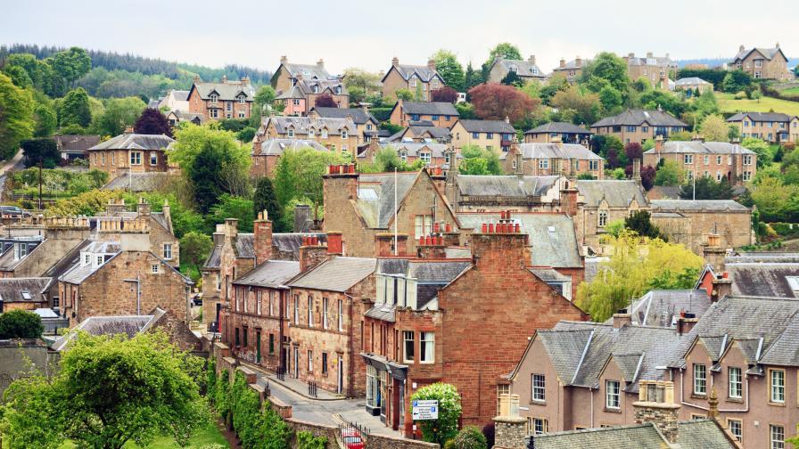 Шотландските градчета - непознати, далечни и...