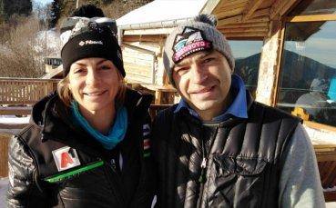 Саня Жекова триумфира в ски център