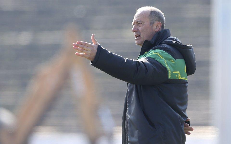 Емил Велев - Кокала, който е последният треньор, извеждал Левски