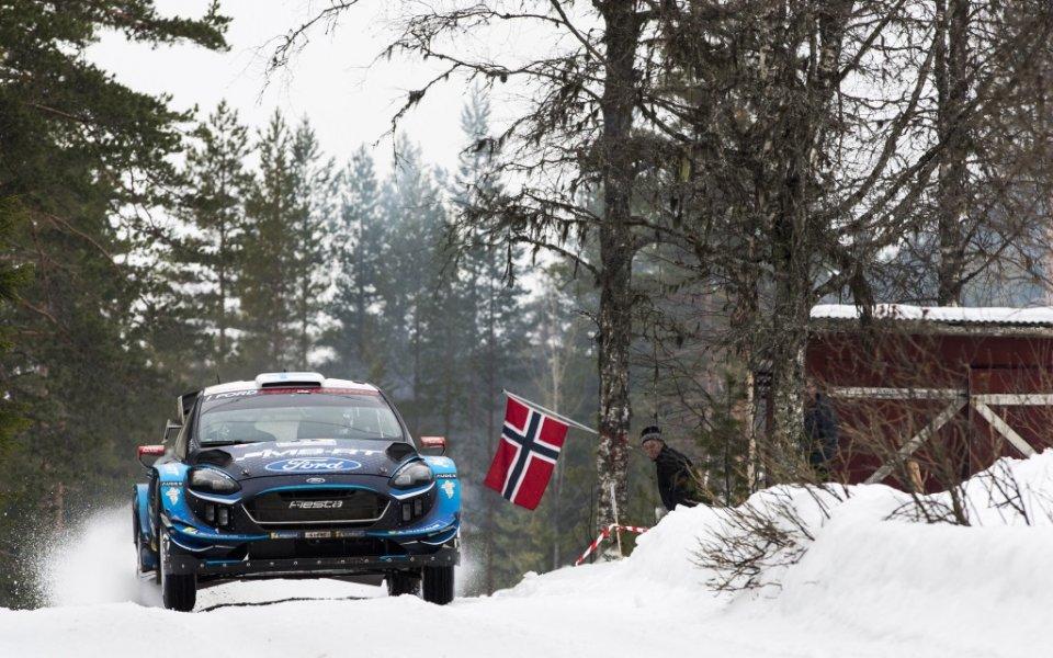 Изненадващ лидер в рали Швеция