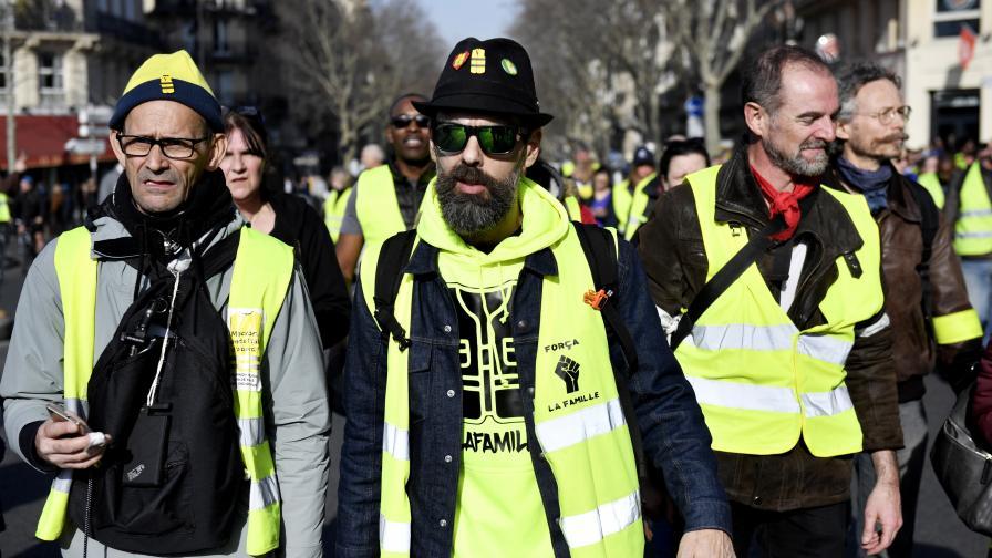Сблъсъци на протеста във Франция