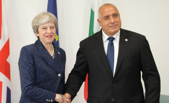 Премиерът Борисов е разговарял по телефона с британския премиер Тереза Мей