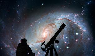 Учени засякоха радиосигнал от другата страна на Вселената