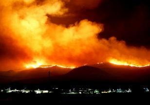 Испания страда от пожари