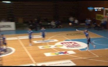 Левски - Дея спорт 3:0 (25:17, 25:16, 25:19)