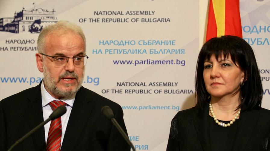 <p>Борисов се срещна с Джафери за Северна Македония</p>