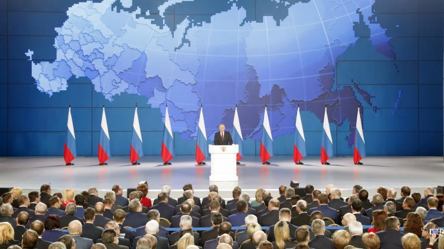 <p>Путин заплаши с ракети САЩ и Европа</p>