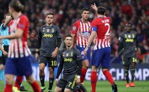 Атлетико Мадрид прати Ювентус в нокдаун
