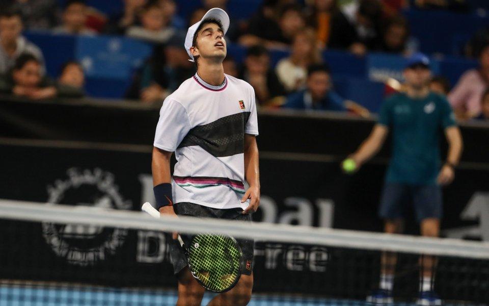 Адриан Андреев отпадна на полуфиналите на тенис турнир в Испания