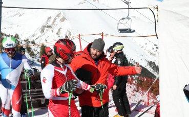Скиорите впечатлени от пистата за Супер-Г в Банско