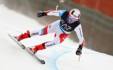 Швейцарец води след първия манш на комбинацията в Банско