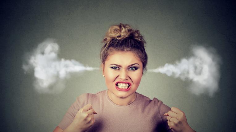 жена ядосана