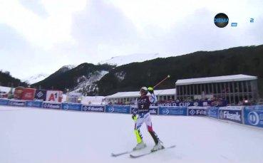 Алпийска комбинация в Банско, 2 манш /репортаж/