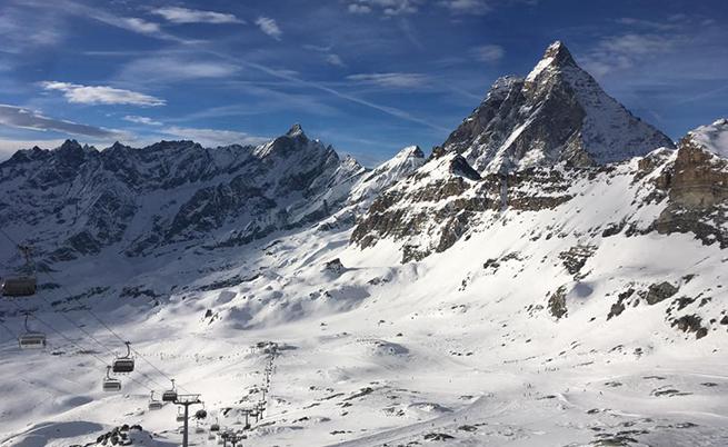 Връх Матерхорн (4478 м). Величествен!