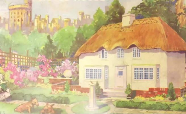 Невероятната къща за игри на кралица Елизабет