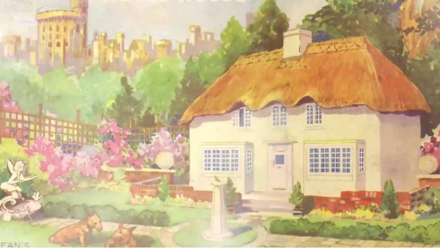 <p>Невероятната къща за игри на кралица Елизабет</p>