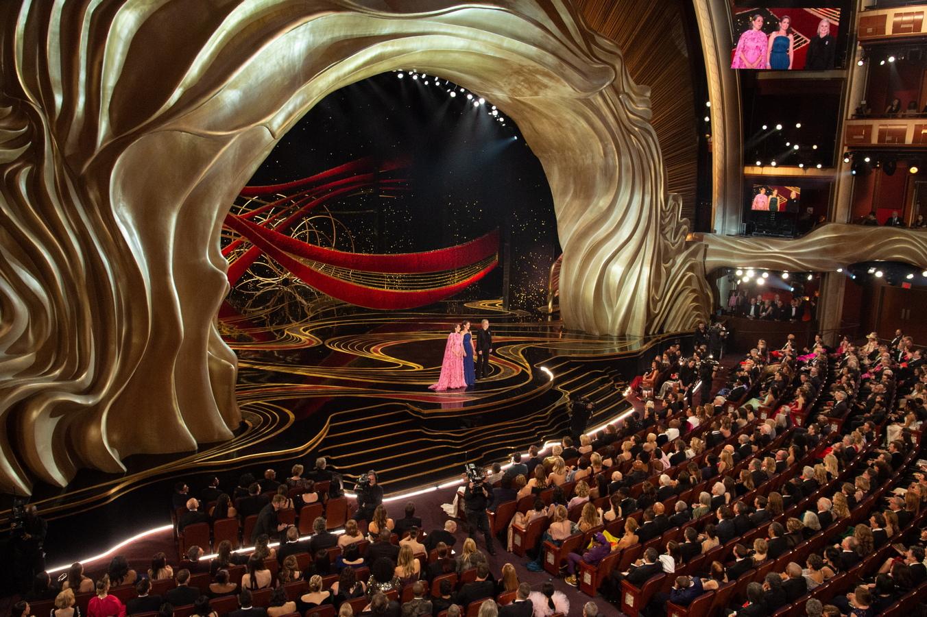 """""""Долби Тиътър"""" в Лос Анджелис е домакин на връчването на 91-ите награди """"Оскар"""" - най-големите и престижни отличия в киното"""