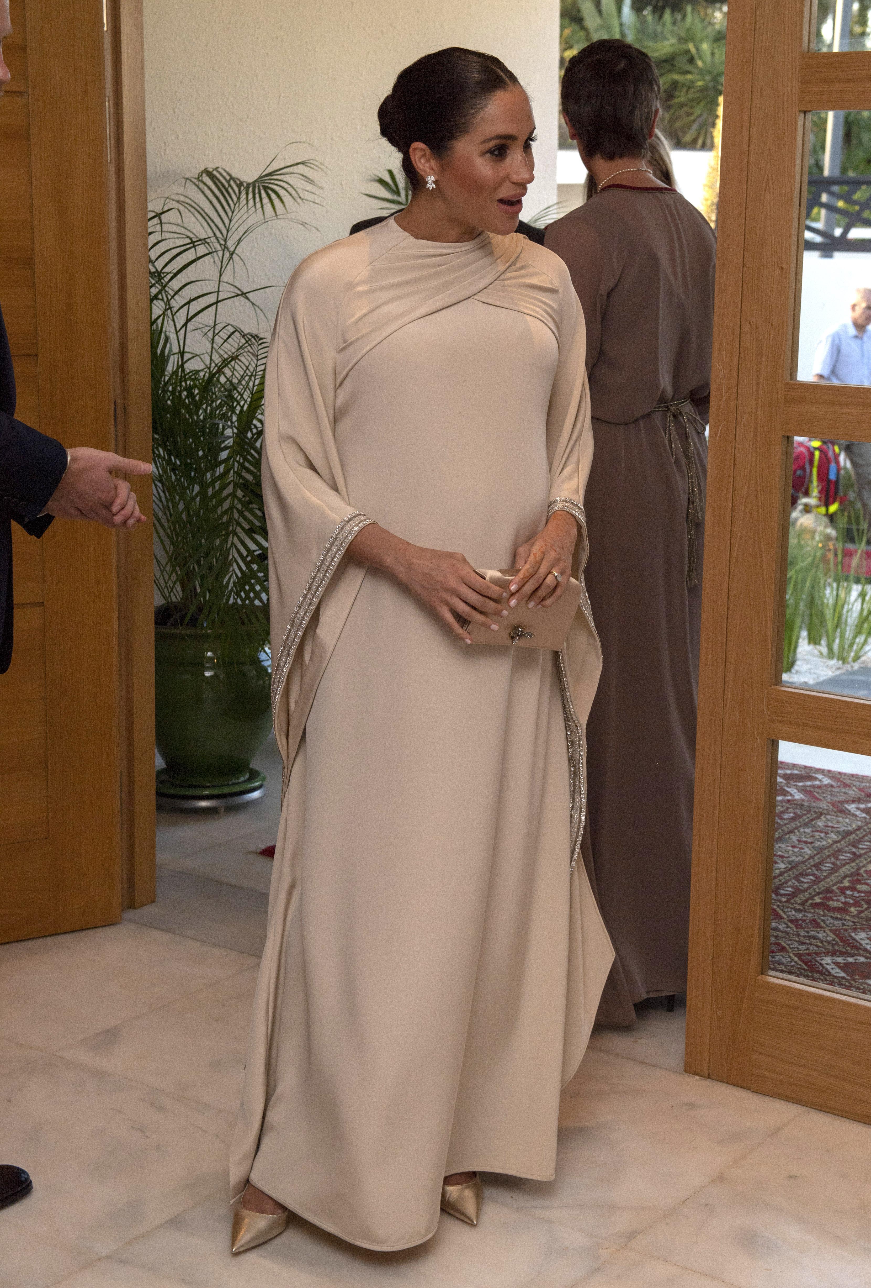 Меган Маркъл и принц Хари бяха на официално посещение в Мароко.