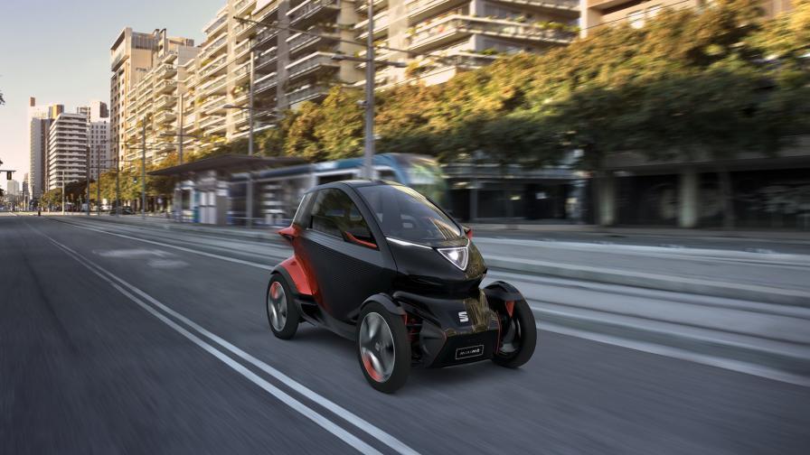 <p>Seat вижда градската мобилност по този начин</p>