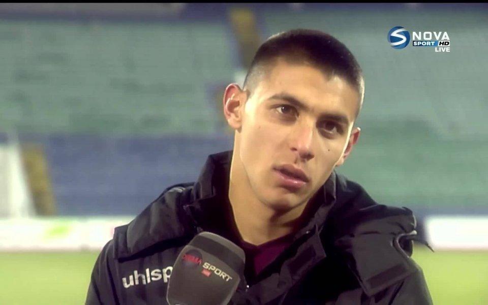 Димитров отказал на клуб от Серия