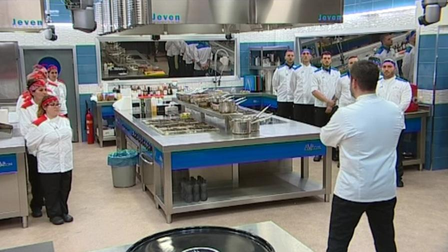 Шеф Ангелов слага край на разхищението на храната в Hell's Kitchen