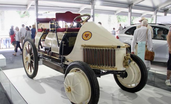 Lohner-Porsche Mixte-Wagen от 1900 г. - първият хибриден автомобил на Фердинанд Порше