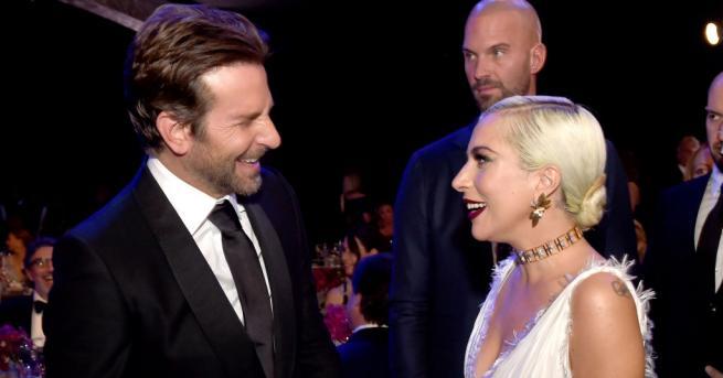 Снимка: Лейди Гага и Брадли Купър отново заедно пред камерите